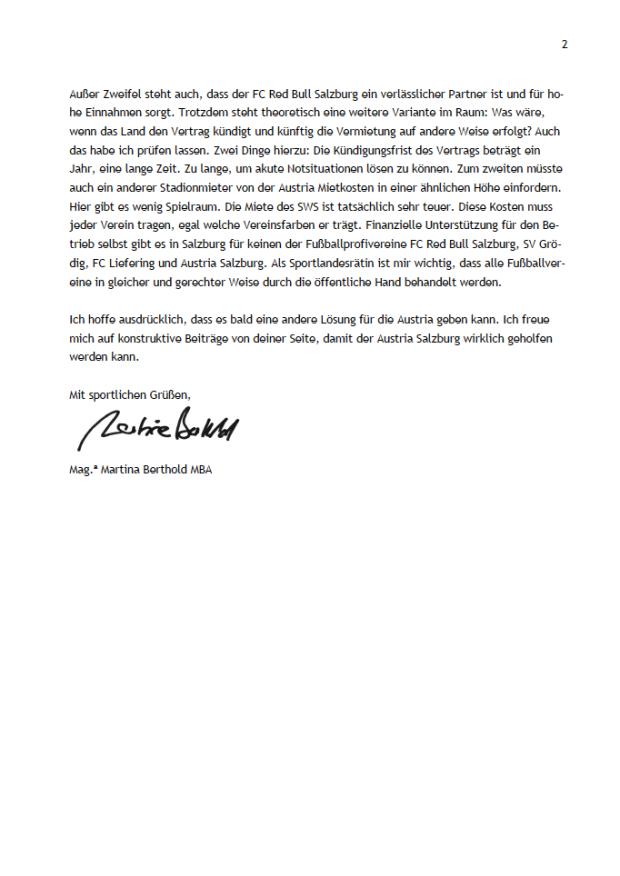 Antwortschreiben GR Dr. Sebastian Huber Seite 2
