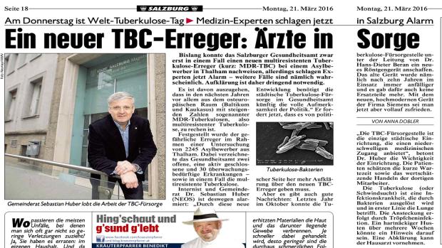 Krono lokal Ein neuer TBC-Erreger Ärzte in Sorge 1136 640